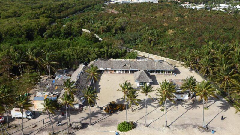 Medio Ambiente inicia rescate de playa Cabeza de Toro en Punta Cana