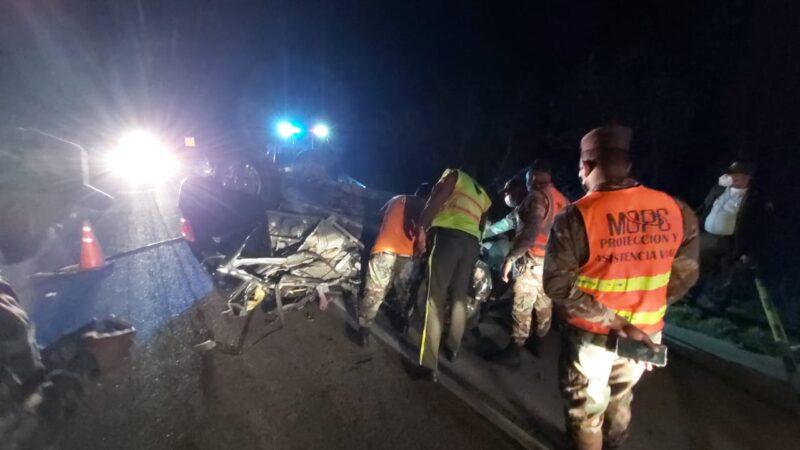 Joven pierde la vida en accidente de tránsito en Verón; deja su esposa en estado de gestación