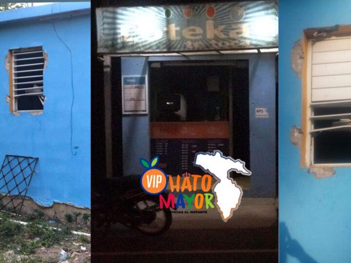 Cacos roban en banca de loteria en Hato Mayor