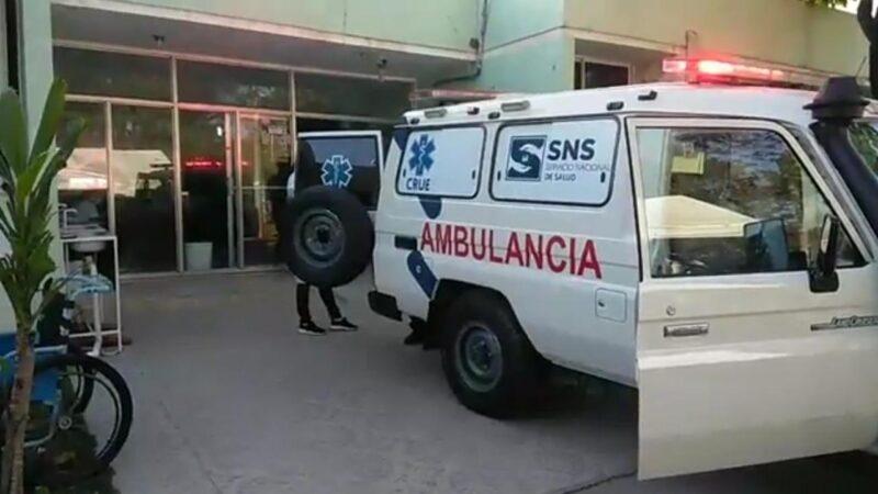 Accidente de tránsito deja dos heridos en rotonda de Hato Mayor del Rey
