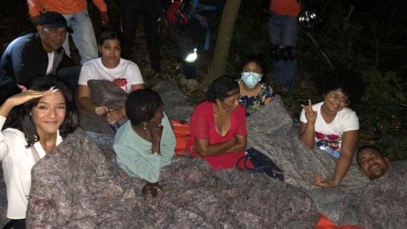 Abinader informó fueron rescatados todos los vacacionistas que estaban varados en el teleférico de Puerto Plata