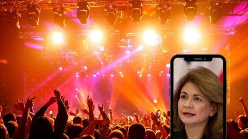 Vicepresidenta revela anunciarán serie de conciertos donde entrarán gratis quienes se hayan vacunado