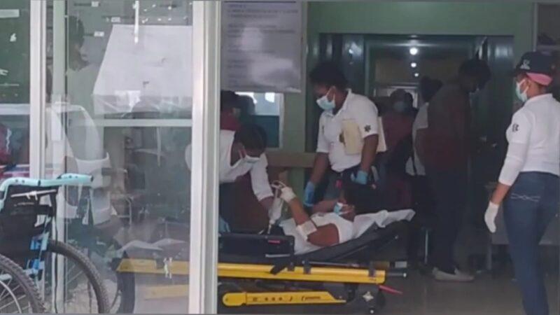 Un hombre y tres mujeres resultaron con heridas a deslizarse la motocicleta que transitaban en la carretera Hato Mayor-Sabana de la Mar