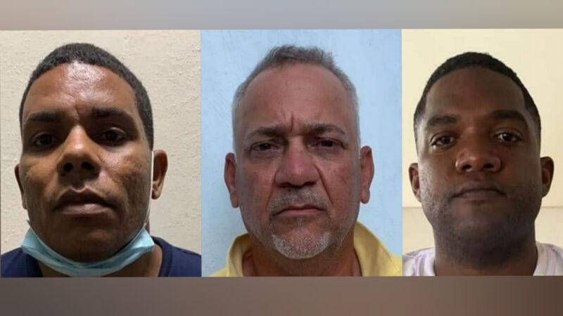 Tribunal aplaza coerción a 3 implicados en asesinato de dos empresarios y mayor Policía Nacional