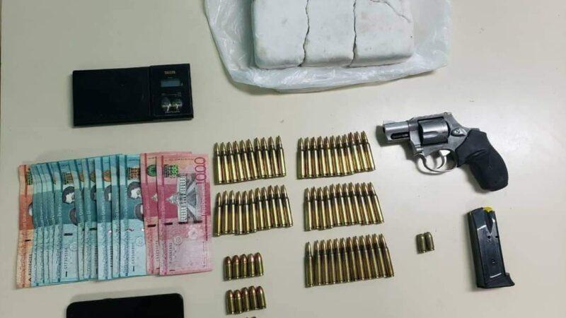 DINTEL apresa presunto traficante de armas de fuego