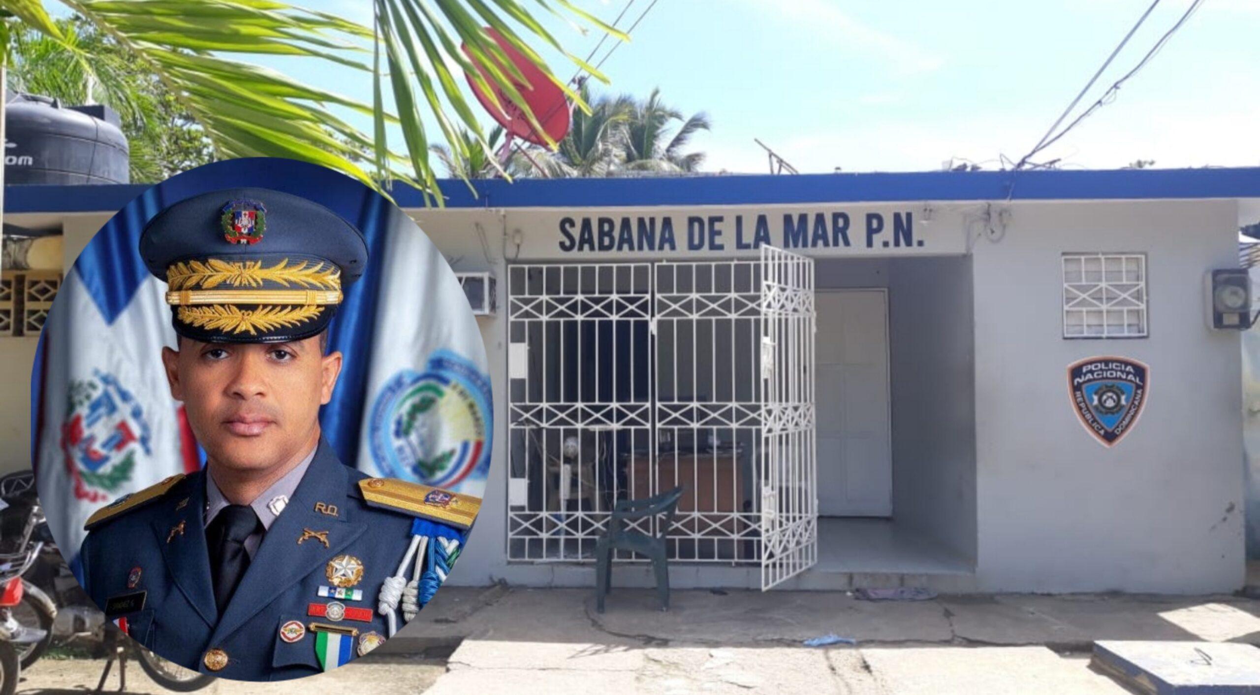 Habitantes en Sabana de la Mar les hacen llamado al Director de la Policía Nacional para que sustituya dotación policial