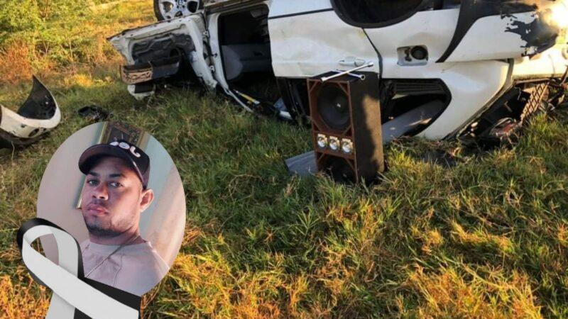 Accidente de tránsito deja un muerto en Villa Isabela
