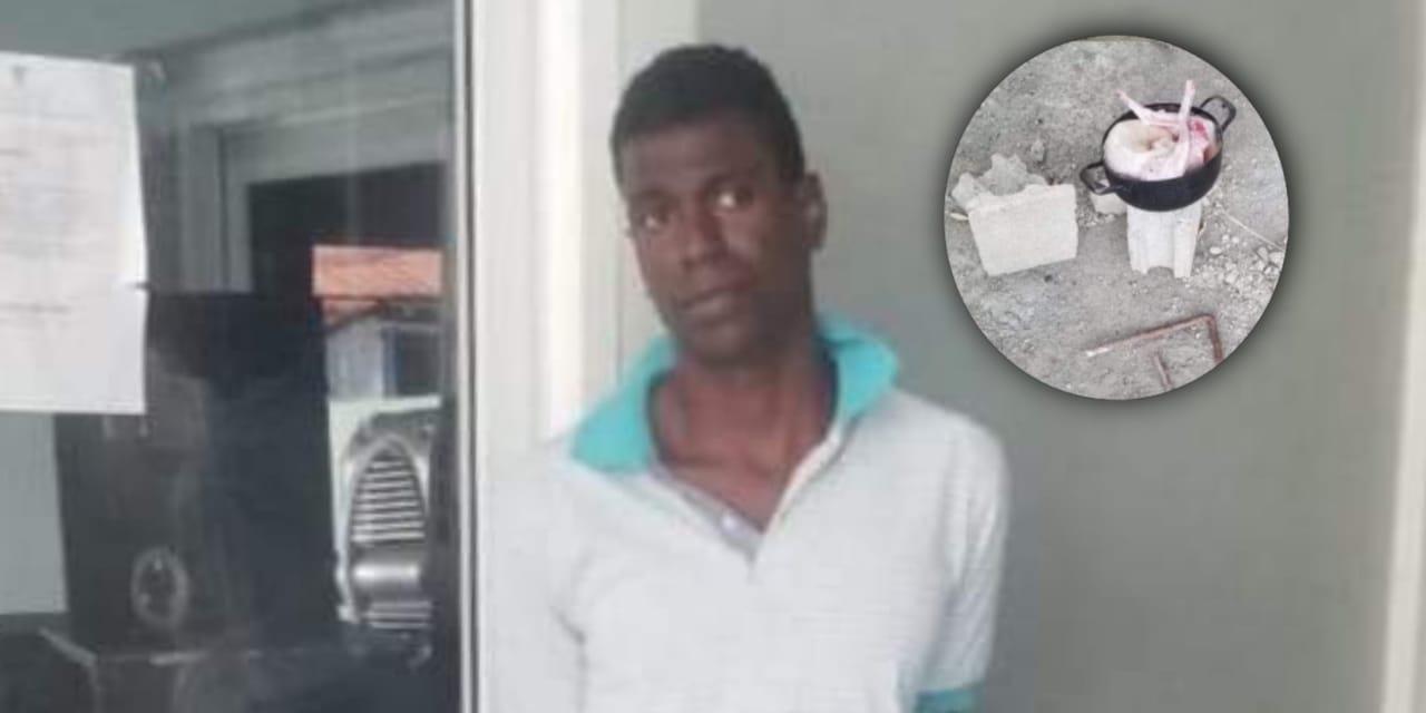 Arrestan hombre mató dos perros y los cocinó en Moca