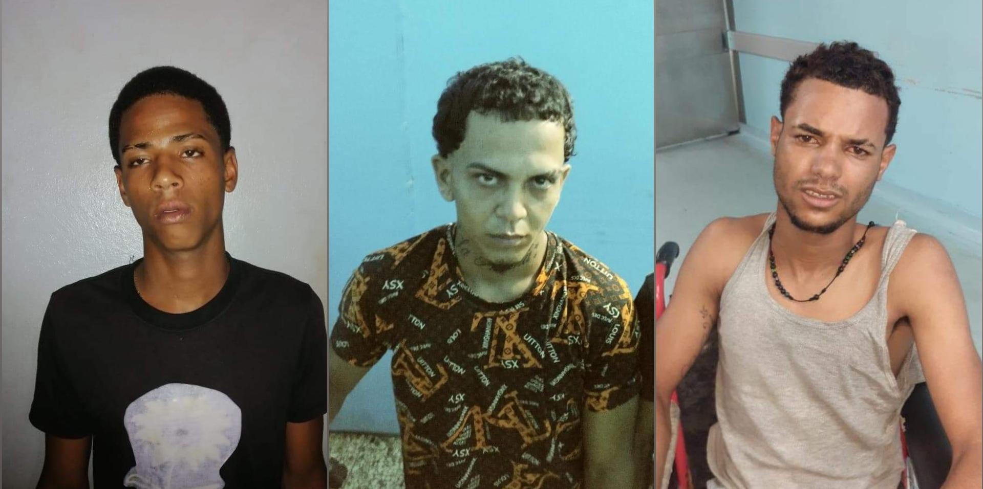 Apresan tres atracadores mantenían en zozobra a Santiago Oeste
