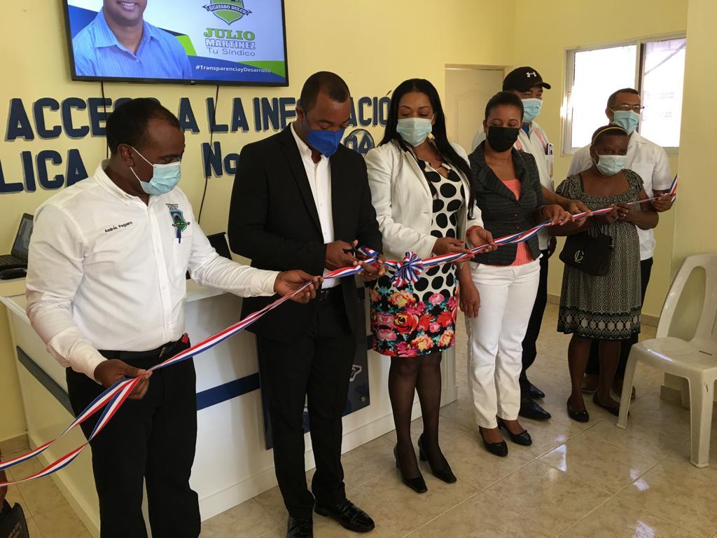 Alcalde de Guayabo Dulce entrega varias obras e inaugura oficina de libre acceso a la información